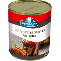 COURGETTES GRILLEES EN HUILE