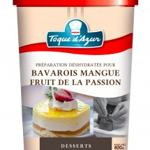 PREP. POUR BAVAROIS MANGUE FRUIT DE LA PASSION