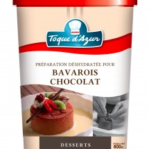 PREPARATION POUR BAVAROIS CHOCOLAT
