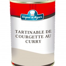 TARTINABLE DE COURGETTES AU CURRY