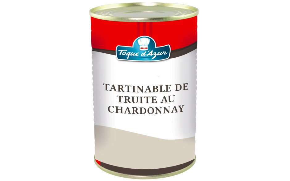 TARTINABLE DE TRUITE AU CHARDONNAY