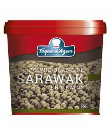 POIVRE BLANC DE SARAWAK EN GRAINS - BOITE PRO 500 G