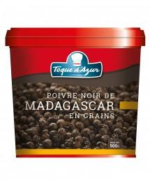 POIVRE NOIR DE MADAGASCAR EN GRAINS - BOITE PRO 500 G