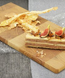 Marbré de canard et foie gras aux notes sucrées-salées